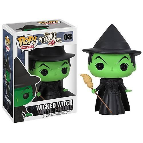 FUNKO POP WICKED WITCH VINYL FIGURE WIZARD OF OZ rare Retired