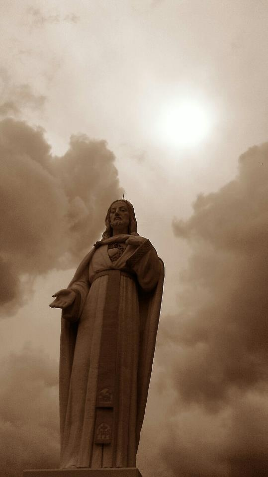 Mother Cabrini Shrine, Colorado.    The Sacred Heart of Jesus.  Picture by Sarah Dall