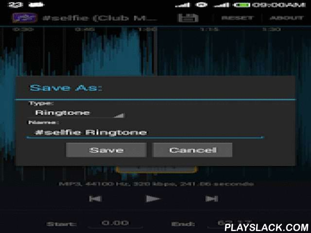 "Ringtone Maker & Audio Clipper  Android App - playslack.com ,  Are you tired of your phone's ringtones.Create your own ringtones from favorite songs of your music library with this cool ""Ringtone maker & Audio Clipper"" app.This app helps you to easily create your own ringtones, alarms, or notification sounds from your existing audio filesFeatures:• Create unlimited number of free ringtones and Audio Clips.• App instantly lists all the music files on your phone.• Can view a scrollable…"
