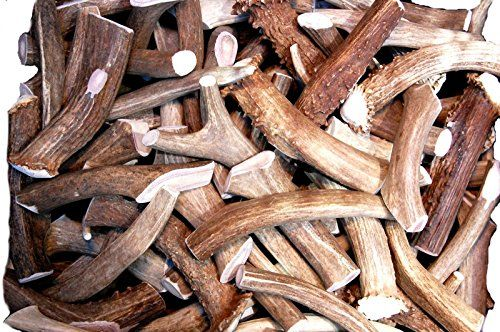 Premium Deer Antler Pieces - by Big Dog Antler Chews - Antlers by the Pound, One Pound - Six Inches or Longer - Medium, Large and XL - Happy Dog Guarantee! - Why are Big Dog Antler Chews such great chews for your dog? Antlers are one of the most easily digested forms of calcium available and are regularly consumed by wildlife such as squirrels, skunk, raccoon and mink. Since our antlers are never farm raised they never contain steroids, antibiotics, p...
