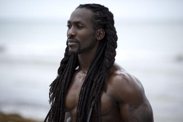 "Personal trainer @blackraw || Captured by Island Boi Photography - ""Melanina"" Project || dark skin men with locs. black men with locs. men's hair. long locs. Melanin. Sun kissed."