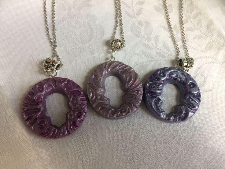 Nado and Lola's polymer pendant creations .Polymer hamsa pendants made by Nado & Lola #turkishhamsa #protectionpendant #evileye