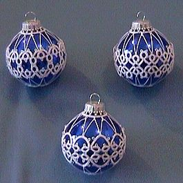 Free Tatting Patterns Beginners | Dreams of Lace: Tatting Showcase - Christmas Ornaments