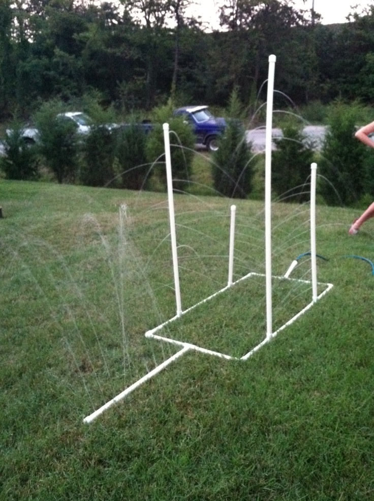25 unique homemade sprinkler ideas on pinterest diy for Pvc pipe garden projects
