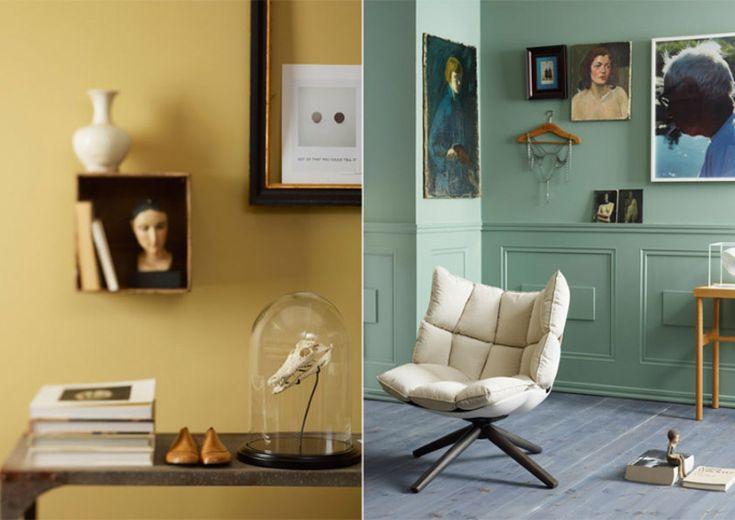 Norwegian interior stylists Jannicke Kråkvik and Alessandro D'Orazio  desire to inspire - desiretoinspire.net