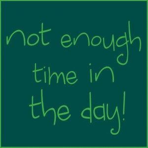 Not enough time in the day! - snowy orange  #prioritize #plan #weddingpros