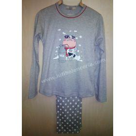 Pijama mujer topos