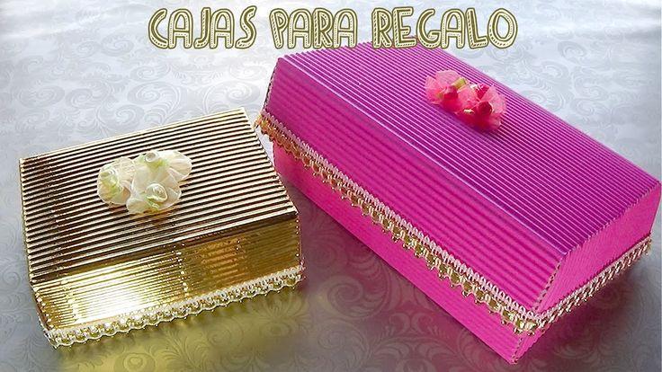https://www.youtube.com/watch?v=F3tCaAQEaaE Cajas de cartón corrugado hechas con tan sólo una pieza.