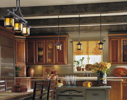 Arts And Crafts Kitchen Lighting