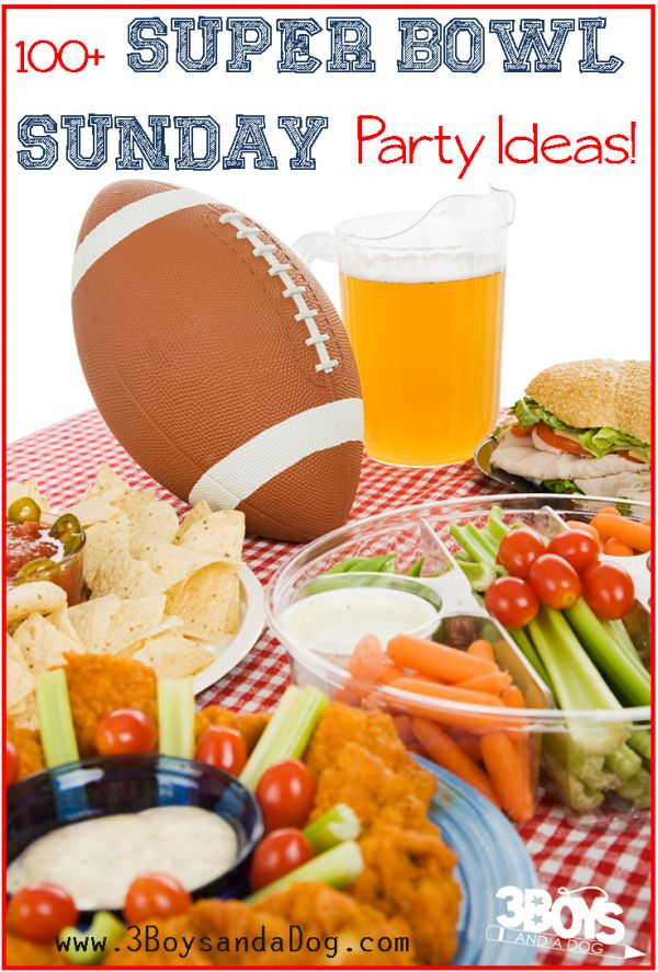 Check out the newest post (Over 100 Super Bowl Sunday Party Ideas: Recipes, Invitations, and Decorations!) on 3 Boys and a Dog at http://3boysandadog.com/2015/01/over-100-super-bowl-sunday-party-ideas/?Over+100+Super+Bowl+Sunday+Party+Ideas%3A+Recipes%2C+Invitations%2C+and+Decorations%21