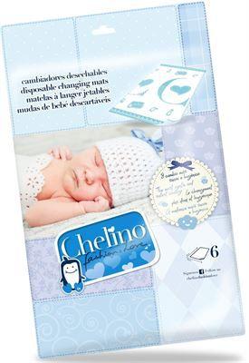 Los cambiadores desechables #Chelino son muy suaves y absorbentes. Gracias a su capa inferior impermeable evitan que se manche la superficie y a su vez protegen la piel de tu bebe.