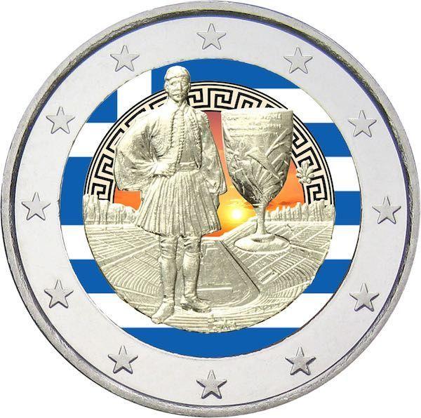 ΣΠΥΡΟΣ ΛΟΥΗΣ 2 Ευρώ, Εγχρωμο, 75 χρόνια από τον Θάνατο του Σπύρου Λουη, Ελλάδα 2015  Ο Σπύρος Λούης (12 Ιανουαρίου 1873 – 26 Μαρτίου 1940) ήταν Έλληνας μαραθωνοδρόμος στους Ολυμπιακούς Αγώνες του 1896 και εθνικός ήρωας. Γεννήθηκε στο Μαρούσι από φτωχή αγροτική οικογένεια. Ο πατέρας του ήταν νερουλάς τότε που ακόμα δεν υπήρχε κεντρική ύδρευση και ο Σπύρος τον βοηθούσε κουβαλώντας το νερό. Ο Λούης έτρεξε τον μαραθώνιο σε χρόνο 2 ώρες, 58 λεπτά και 50 δεύτερα.  Αποκτήστε το εδώ↓…