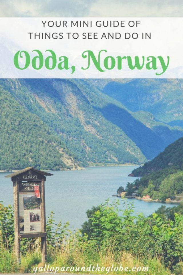 Odda, Norway! in 2021 | Norway landscape, Norway city