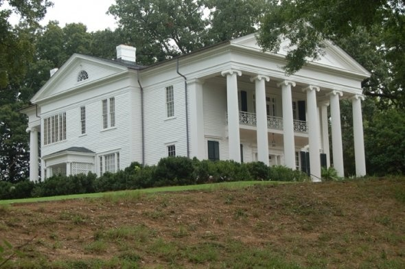 "Oak Hill - Martha Berry House, Rome, Ga. Beautiful house - used as the Carmichael Plantation in the Reese Witherspoon movie ""Sweet Home Alabama"""