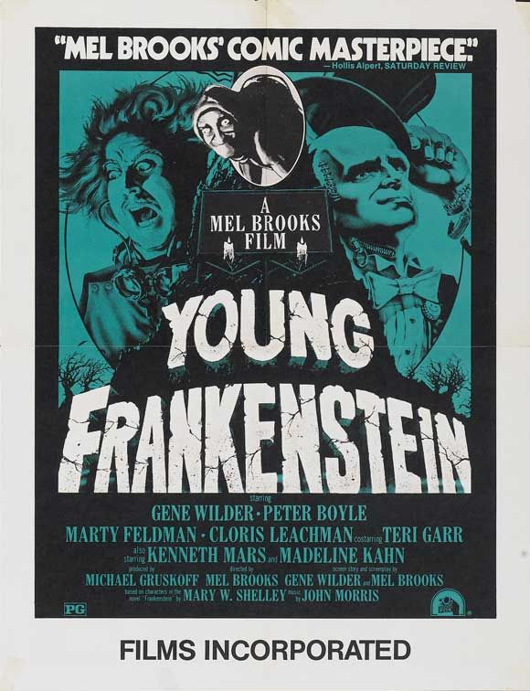 young frankenstein classic comedy analysis Hadley fraser as frankenstein and ross noble as igor in young frankenstein by mel brooks ross noble is both funny and touching as the faithful igor, summer strallen lights up the stage as the incandescent inga, dianne pilkington is suitably arch as frederick's untouchable fiancee and shuler.