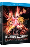 Fullmetal Alchemist: The Sacred Star of Milos (the latest movie in the franchise) comes out on 4/24/12!