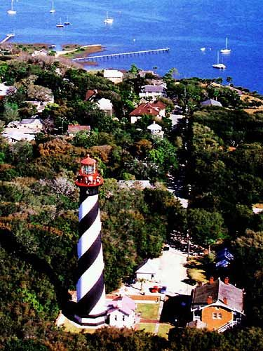 Ascend 219 steps and uncover 140 years of history on your climb to the top of the St. Augustine Lighthouse. At the top, you'll be treated to a 360º view that includes historic St. Augustine, St. Augustine Beach, the Intracoastal Waterway and the Atlantic Ocean. It's a unique experience you won't find anywhere else in the world!