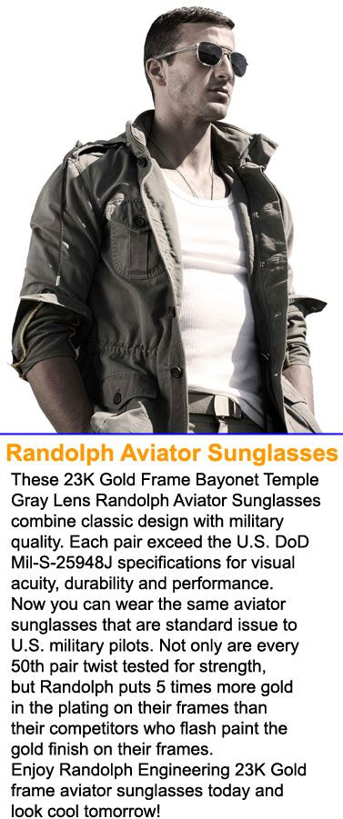 randolph engineering sunglasses size guide