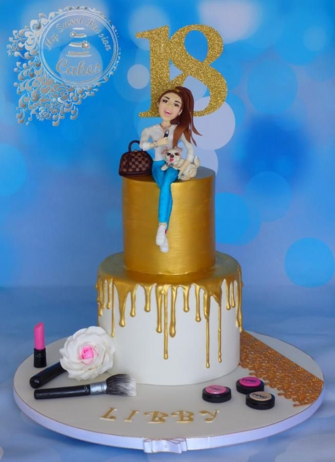 Brilliant Personalised Birthday Cake By Beata Khoo With Images 18Th Personalised Birthday Cards Cominlily Jamesorg