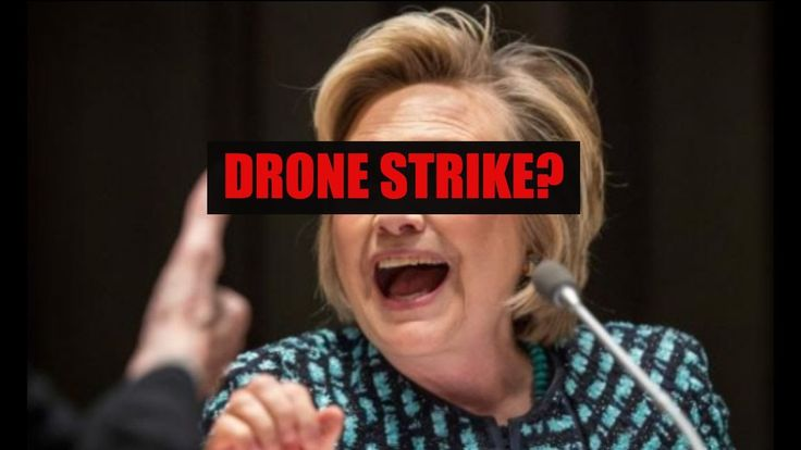 HILLARY CLINTON WANTED TO DRONE WIKILEAKS!!!