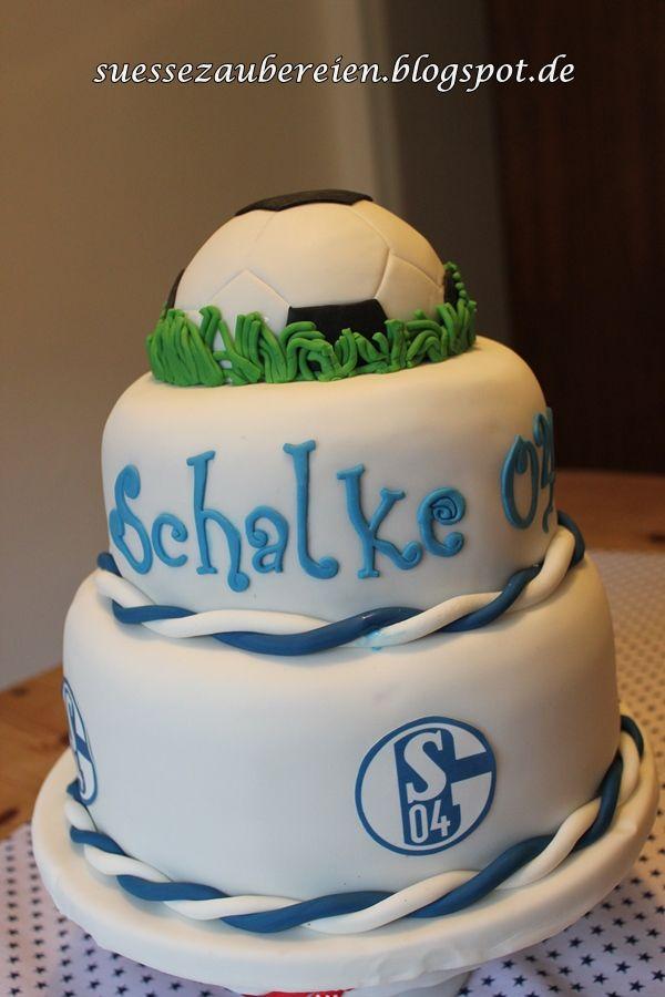 Schalke Torte