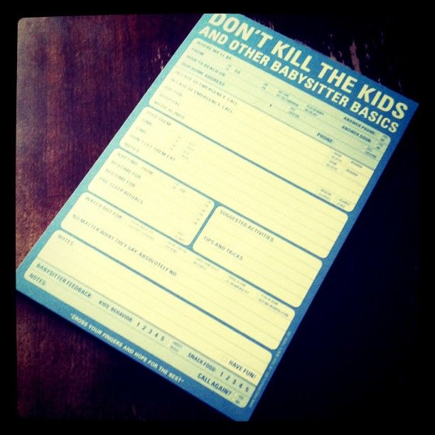 Let the babysitter rate your kids and their experience with them. Allows them to leave their number, etc. if they liked the experience.