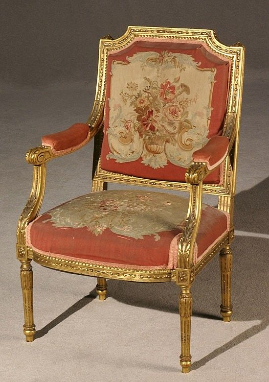Buy online  view images and see past prices for Louis XVI Style Giltwood  Aubusson Tapestry Upholstered Fauteuil en Cabriolet Late Century 915 best chairs   sofas   19th c  images on Pinterest   Antique  . Louis Xvi Style Furniture For Sale. Home Design Ideas