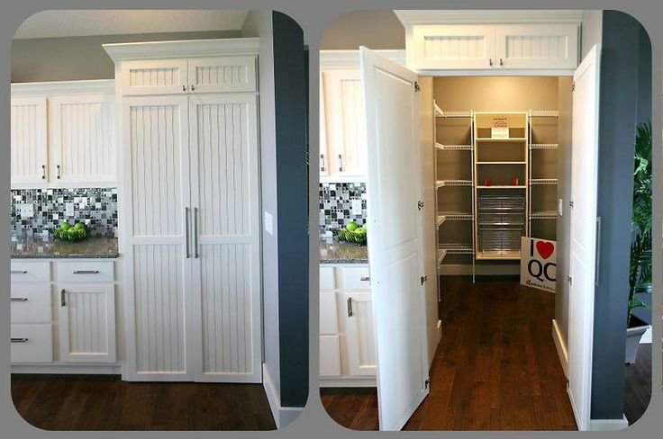 A Hidden Pantry Is Accessed From This Matching Walk In