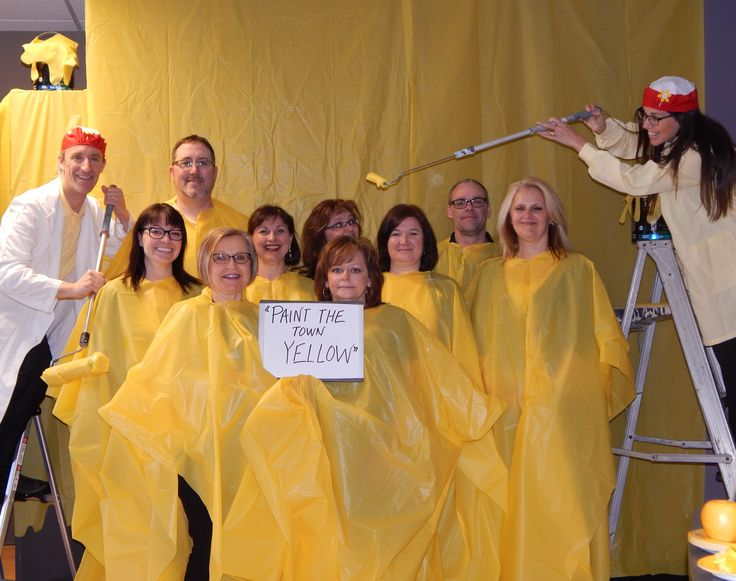 Paint the Town Yellow!  Help us to support the Canadian Cancer Society Daffodil Days by making a donation.  www.cancer.ca