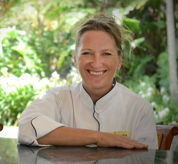 Samantha Gowing - Australia's leading spa chef, creator of Food Health Wealth and author of The Healing Feeling.  http://www.foodhealthwealth.com