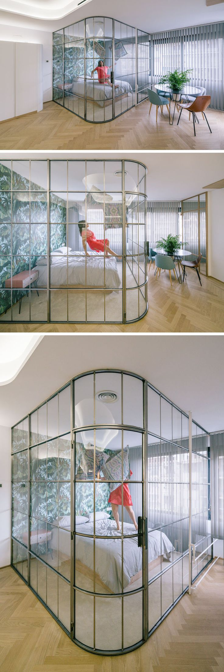 Design Detail Glass Enclosed Bedrooms And