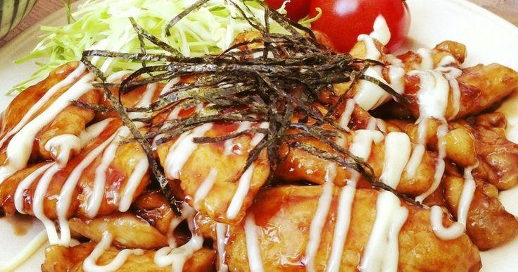 【2500レポ感謝】10分で完成♪ 鶏胸肉なのに冷めても柔らかい♡♥ 調味料も簡単配合♡♥ 弁当・丼にもどうぞ(^-^)