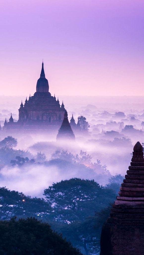 Misty Morning in Bagan by : Zay Yar Lin Bagan, Myanmar