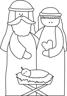 free silhoutte nativity scene patterns | Nativity Scene - Wood Craft Ornament or Nativity Scene Outdoor Pattern