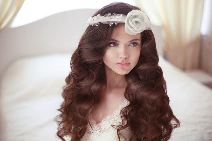 Идеи прически невесты для разной длины волос (фото) #невеста #свадьба #волосы #прическа #прическаневесты #мода #свадебнаямода #укладка
