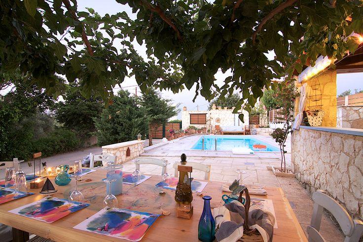 diktamos.gr Diktamos Villas, Rethymno, Crete, Greece #diktamos #ammos #mitos #notos #villa #rethymno #crete #greece #vacation_rental #holidays #private #luxurious_accommodation #summer_in_crete #visit_greece #outdoors
