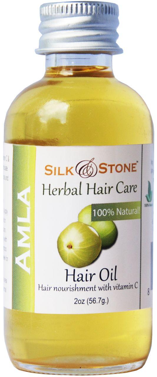 Silk & Stone 100% Pure Amla (Indian gooseberry) Hair Oil