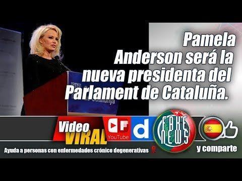 Pamela Anderson será la nueva presidenta del Parlament de Cataluña.