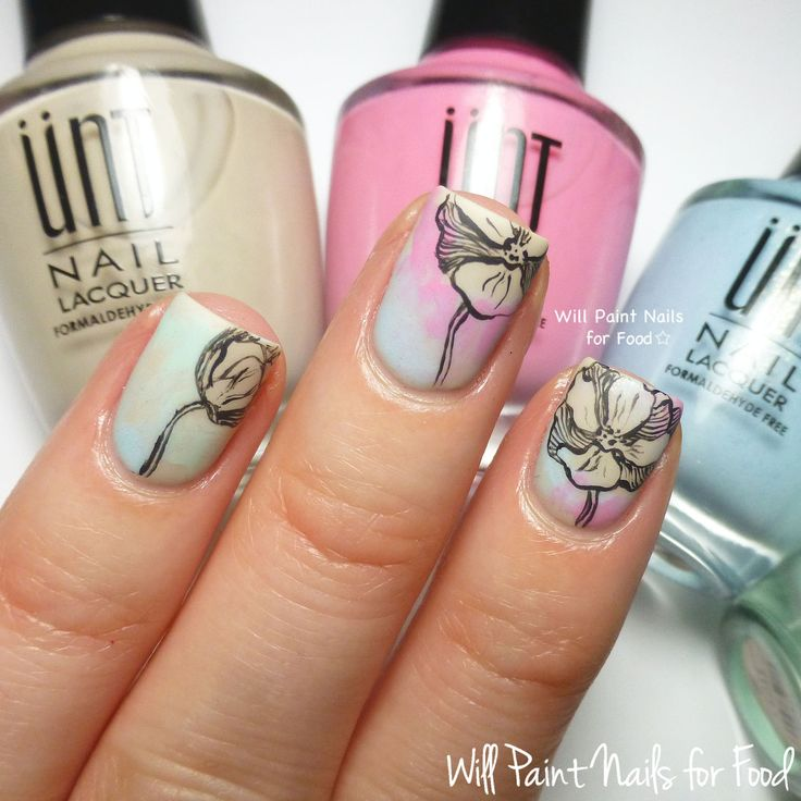 130 best Water color nail art images on Pinterest | Nail scissors ...