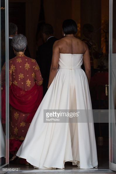 Washington DC On Tuesday August 2 Mrs Lee Hsien Loong First Lady Michelle Obama Prime Minister Lee Hsien Loong and President Barack Obama leave the...