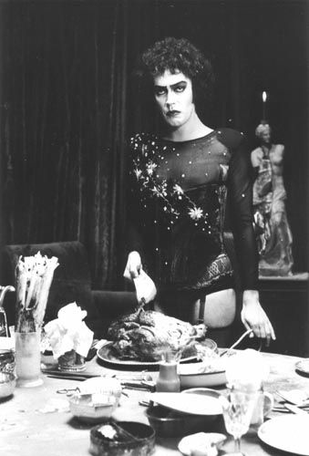 The Rocky Horror Picture Show. Talk about moments in my life that you never want to forget. This movie!