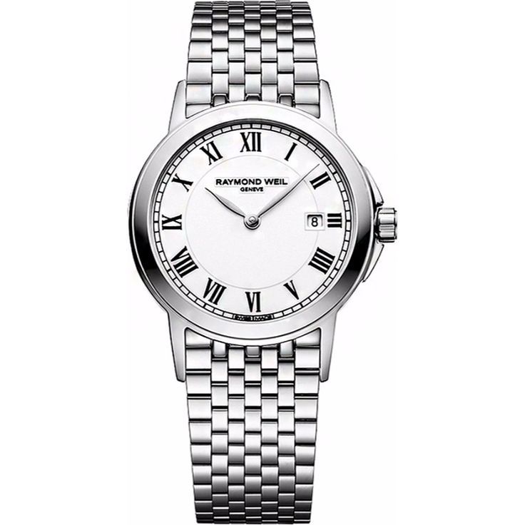 Luxury watch for women designed by Raymond Weil.