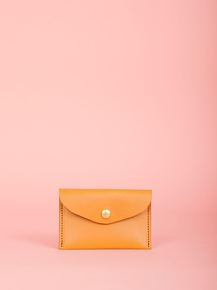 George - Caramel Leather Bag, Mimi Berry SS16