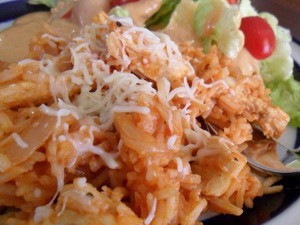 Italian Tomato Chicken and Rice