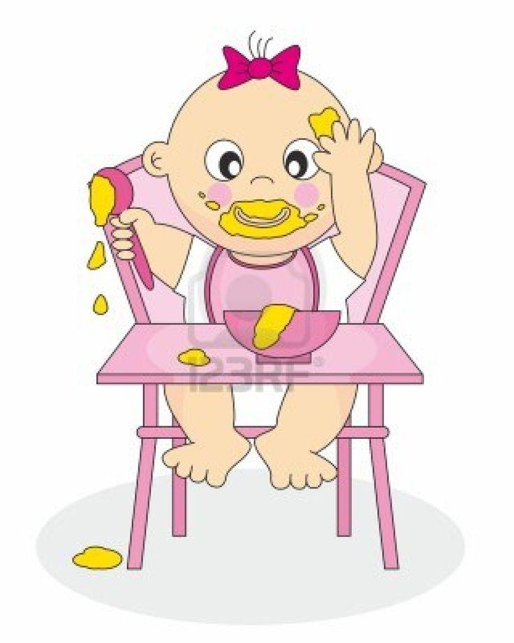 Resultado de imagen de dibujo trona bebe
