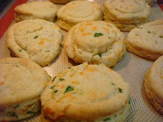 chive cheddar biscuits | Sides | Pinterest