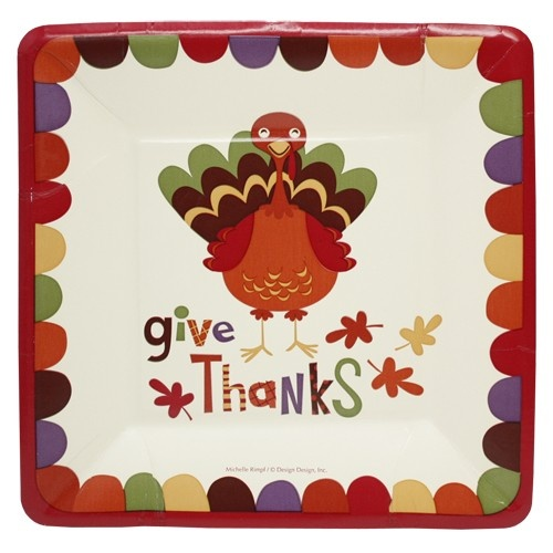 thanksgiving paper plates and napkins Find great deals on ebay for large paper napkins and  festive turkey fall autumn thanksgiving holiday party large paper  luau paper plates & napkins hawaiian.