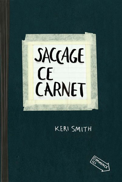 French edition of Wreck This Journal!