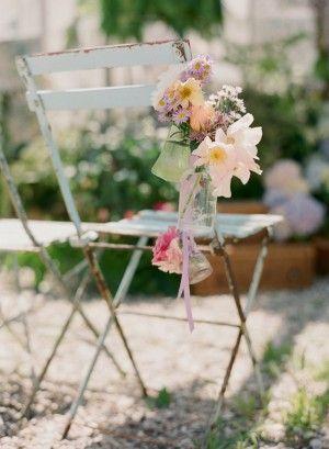 Wedding + Chair Aisle