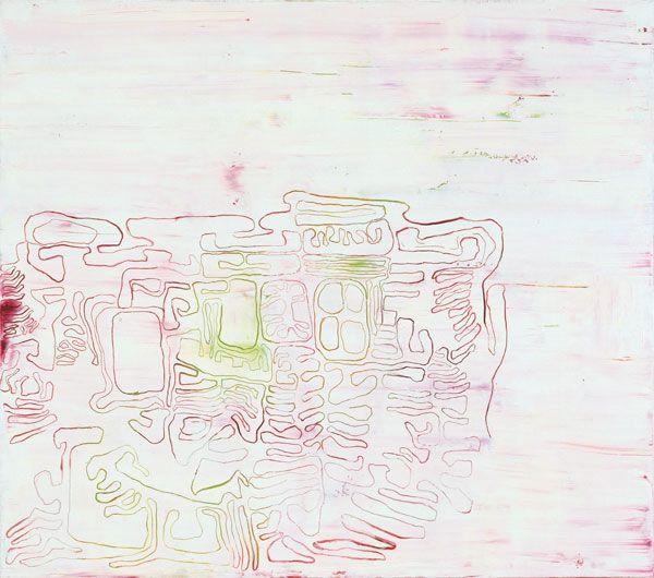 Olav Christopher Jenssen, Innocence No. 17, 1999 Oil on canvas 145 x 165 cm